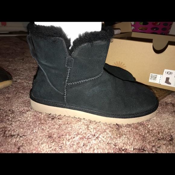 4752cf81865 Koolaburra by Ugg, black short boots